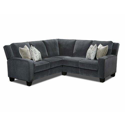 Power RAF Loveseat with Pillows