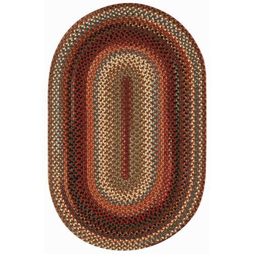 Americana Mocha Braided Rugs