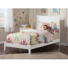 Metro Twin XL Bed in White