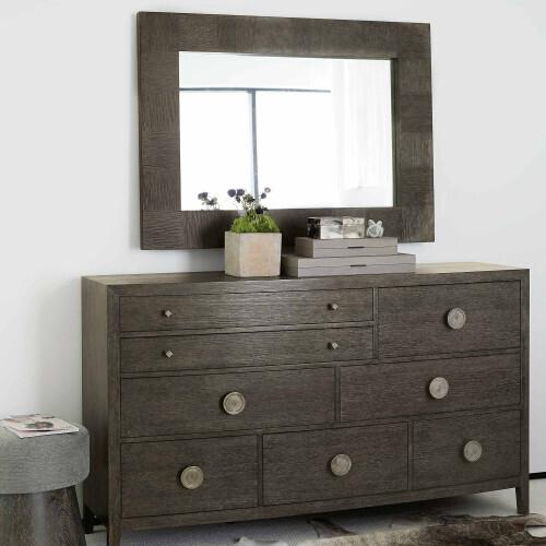 Bernhardt - Linea Dresser in Cerused Charcoal (384)