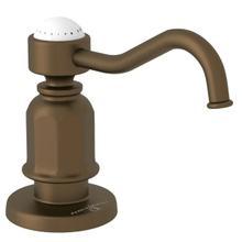 Traditional Deck Mount Soap Dispenser - English Bronze