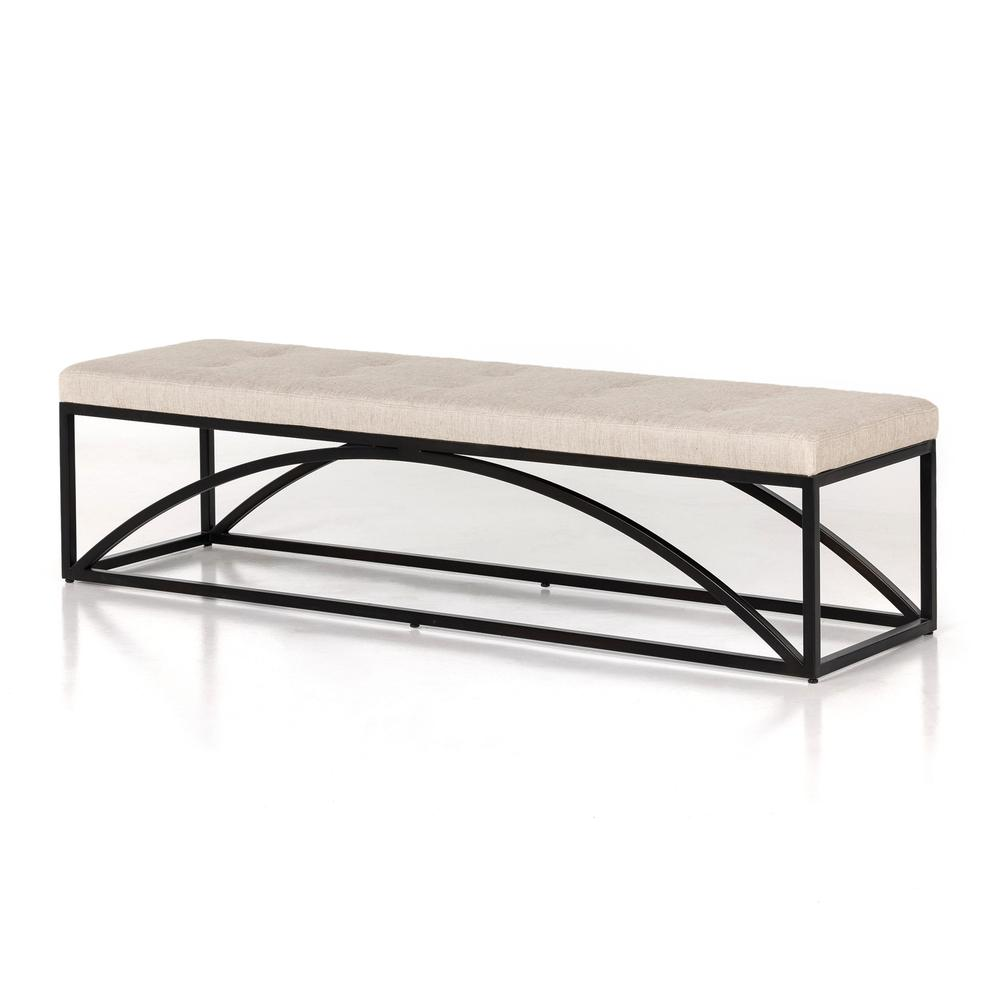 See Details - Neil Accent Bench-essence Natural