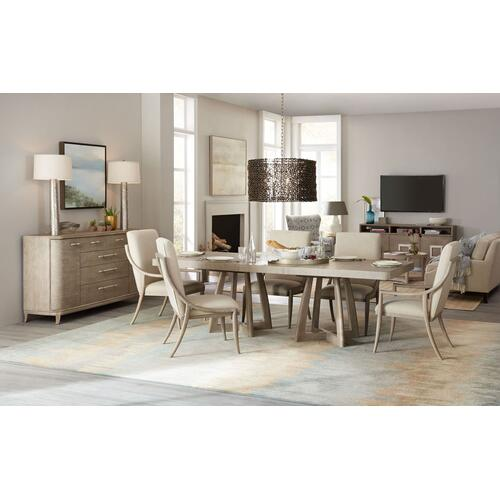 Dining Room Affinity Slope Side Chair - 2 per carton/price ea