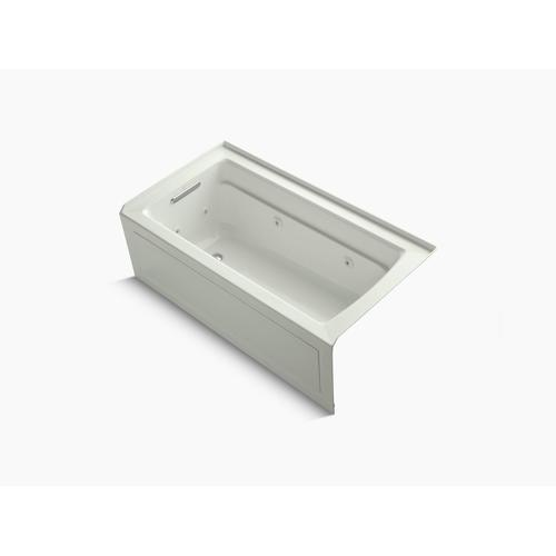 """Dune 60"""" X 32"""" Alcove Whirlpool With Integral Apron, Left-hand Drain and Heater"""