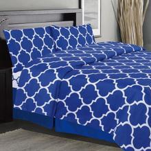 Holbrooke Sheet Set - Double / Blue