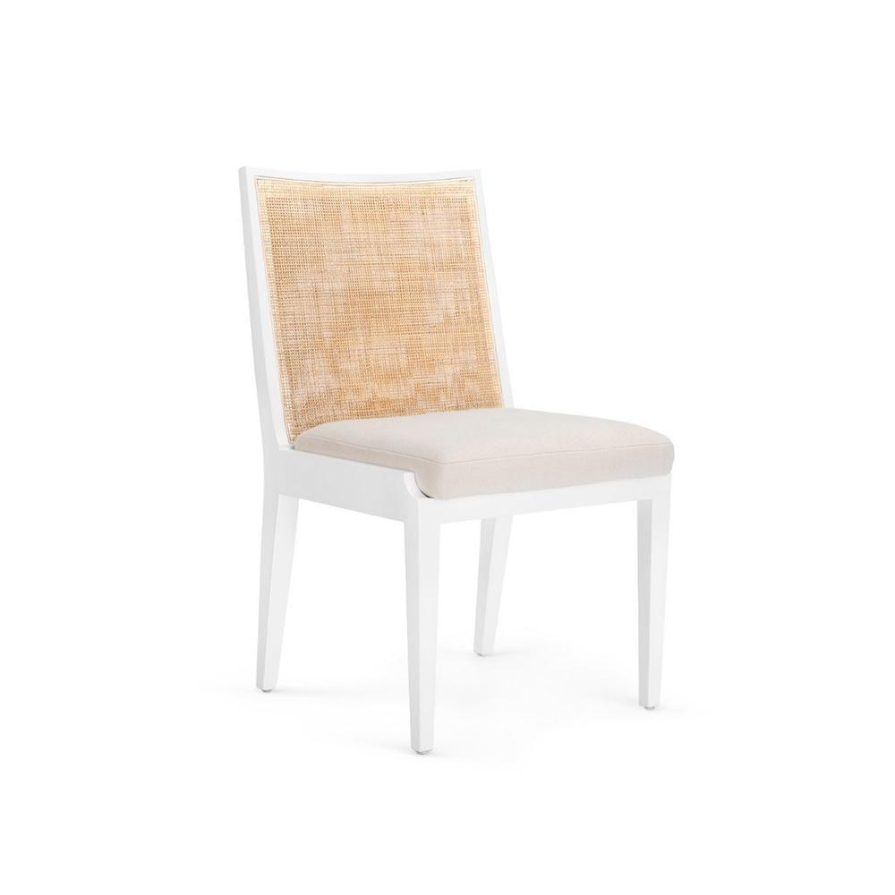 Ernest Side Chair, White