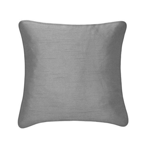 Faux Silk Cushion - Black
