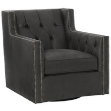 See Details - Candace Swivel Chair in #44 Antique Nickel