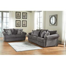 Allouette Sofa & Loveseat Ash