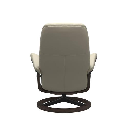 Stressless By Ekornes - Stressless® Consul (S) Signature chair with footstool