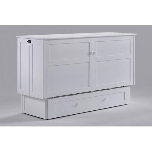 Gallery - Clover Murphy Cabinet Bed in White Finish