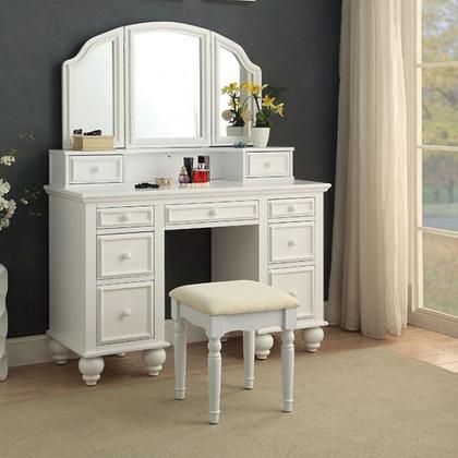 See Details - Athy Vanity W/ Stool