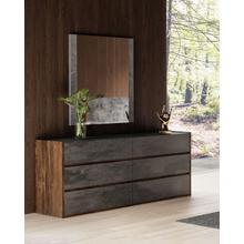 See Details - Nova Domus Rado Modern Walnut & Stucco Dresser