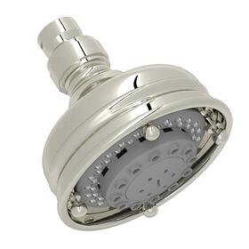 "Polished Nickel 4"" Santena 3-Function Showerhead"
