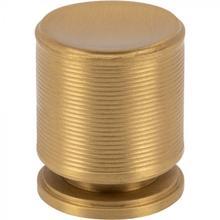 View Product - Vibe Knob 1 Inch Satin Brass Satin Brass