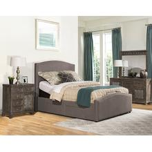 Kerstein Adjustable King Storage Bed Set - Orly Gray
