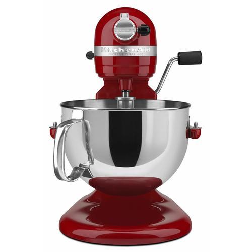 KitchenAid - Professional 600™ Series 6 Quart Bowl-Lift Stand Mixer - Empire Red