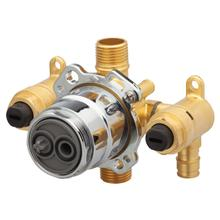 New - Treysta® Tub & Shower Valve- Vertical Inputs With Stops- Cold Expansion Pex