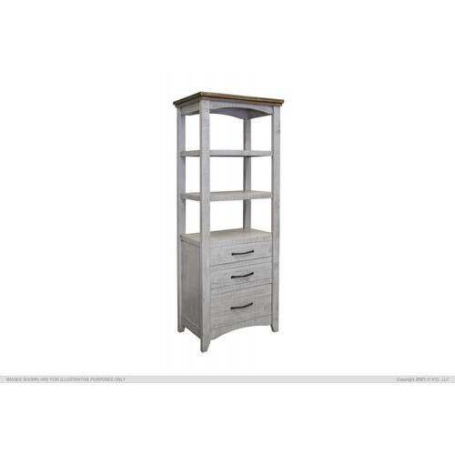 See Details - 3 Drawers, Bookcase