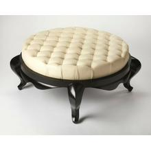 "Looking for a luxe way to lavish the living room"" Switch out your coffee table for this alluring ottoman instead! While certainly essential when you need to set out trays of delectable drinks at your next cocktail party, it's equal ideal for simply kickin"