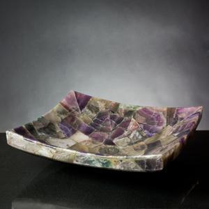 Zen Vessel Purple Onyx Mosaic Product Image