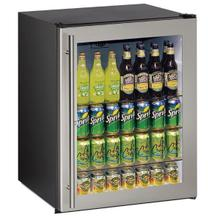 """24"""" ADA Qualified Undercounter Refrigerator With Stainless Frame Finish - CLEARANCE ITEM"""