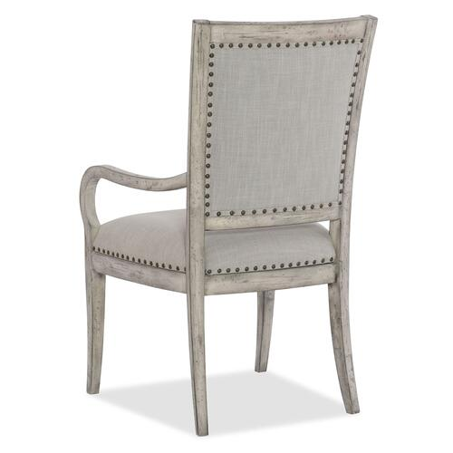 Dining Room Boheme Vitton Upholstered Arm Chair - 2 per carton/price ea