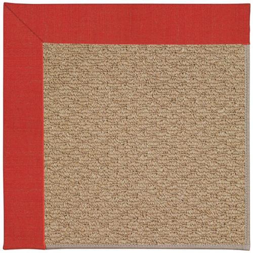 """Creative Concepts-Raffia Dupione Crimson - Rectangle - 24"""" x 36"""""""