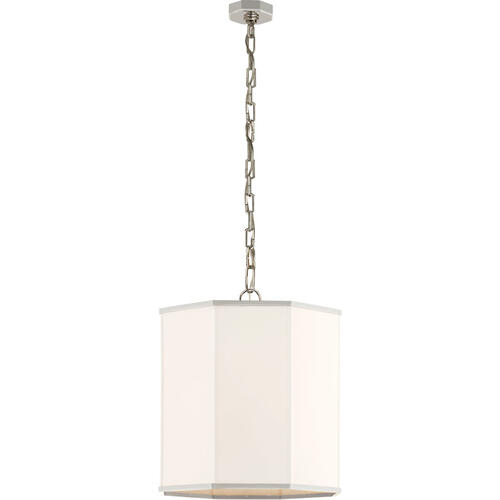 AERIN Niles2 4 Light 18 inch Polished Nickel Hanging Shade Ceiling Light