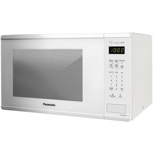 1.3 Cu. Ft. 1100W Countertop Microwave Oven - White - NN-SU656W
