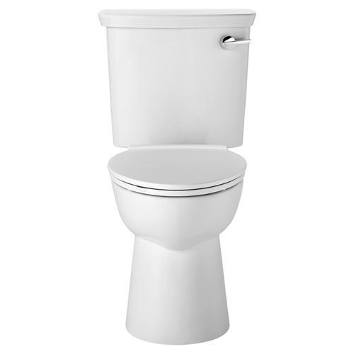 American Standard - VorMax HET Elongated Toilet  Right-hand Trip Lever  American Standard - White