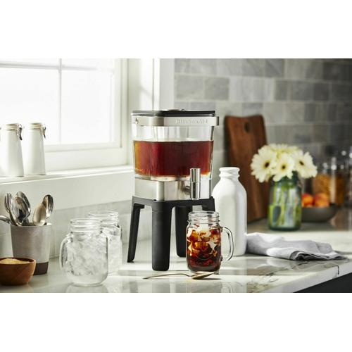 KitchenAid Canada - 38 oz Cold Brew Coffee Maker - Heritage Stainless Steel