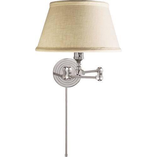E. F. Chapman Boston 19 inch 60.00 watt Polished Nickel Swing-Arm Wall Light
