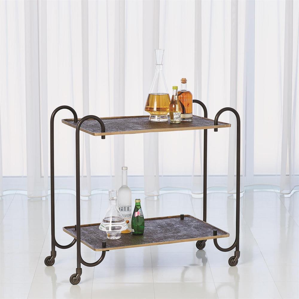 See Details - Blade Bar Cart-Bronze