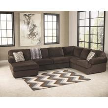 Jessa Place Chocolate Sectional Left