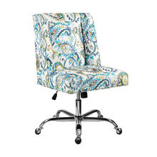 Draper Office Chair Azure