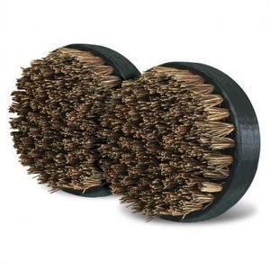 Big Green Egg - SpeediClean™ Palmyra Bristle Dual Brush Grid and Pizza Stone Scrubber