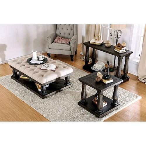 Keira Coffee Table w/ Cushion Top