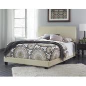 Queen Ramon Cream PU Bed