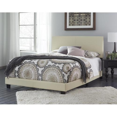 Product Image - King Ramon Cream PU Bed