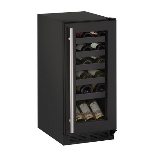 "1215wc 15"" Wine Refrigerator With Black Frame Finish (115 V/60 Hz Volts /60 Hz Hz)"