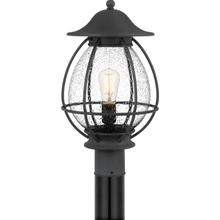 View Product - Boston Outdoor Lantern in Mottled Black