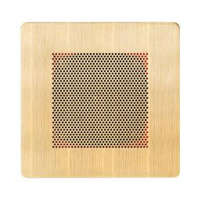 Self Powered Bluetooth Speakers in Antique Brass