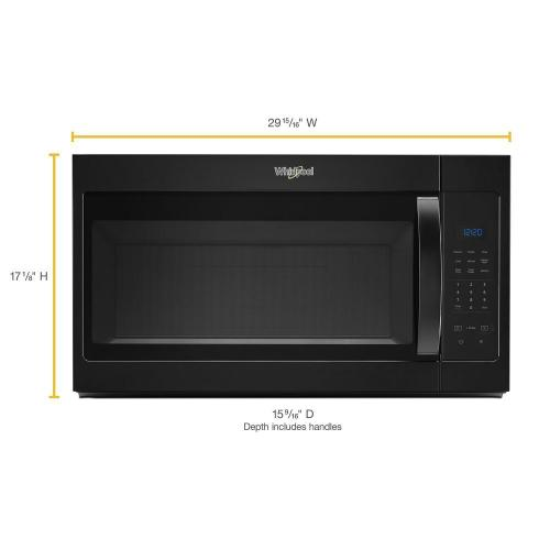 Whirlpool Canada - 1.7 cu. ft. Microwave Hood Combination with Electronic Touch Controls
