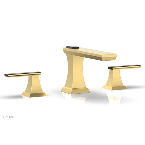 WAVELAND Widespread Faucet - Satin Gold