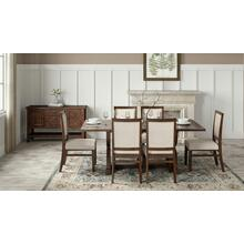 Fairview Oak Backless Dining Bench