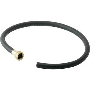 """Elkay 36"""" Black Heavy Duty Rubber Hose with Standard Female Faucet Hose Connection on One End Product Image"""
