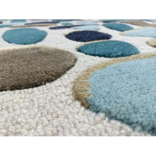 Shadows Cream Toffee Hand Tufted Rugs