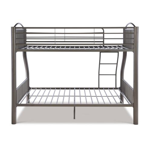 Powell Company - Twin Over Full Pewter Bed