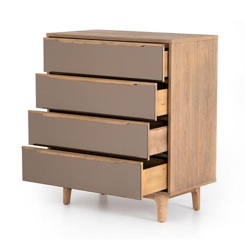 Finch 4 Drawer Dresser